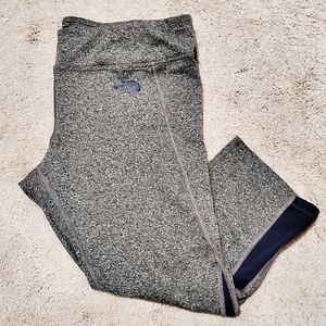 The North Face Gray Cropped Leggings
